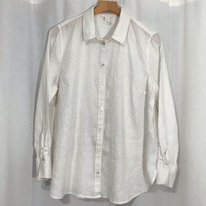 H&M 100% Linen Shirt Sz 14